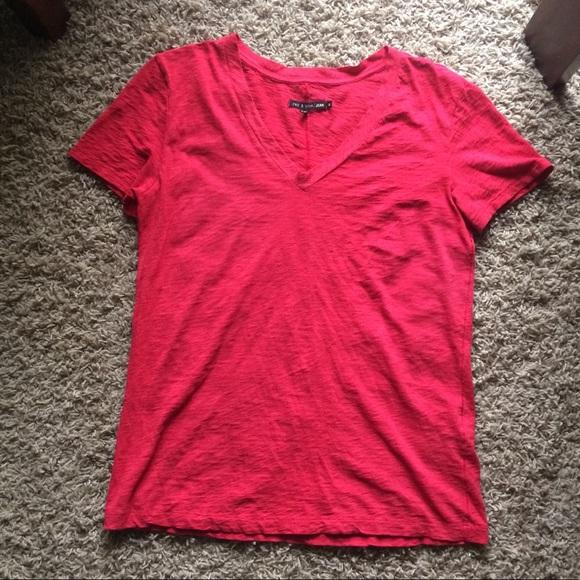 2f7c824f Tops | Red Rag Bone Tshirt | Poshmark